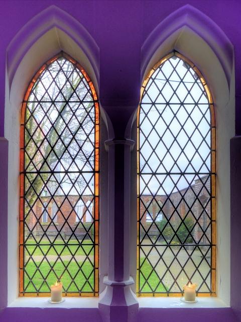 Candle in the Window, Gorton Monastery