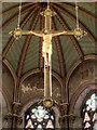 SJ8796 : Great Nave Crucifix, Gorton Monastery by David Dixon