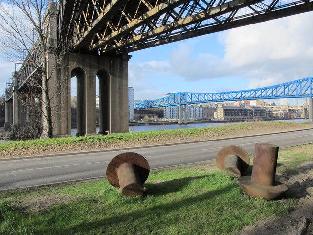 Riverside Rivets by the King Edward Bridge