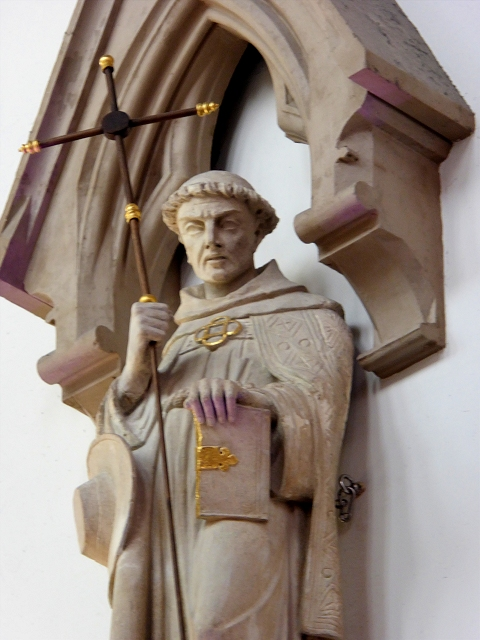St Bonaventure, Gorton Monastery Great Nave