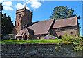 SO7362 : All Saints church in Shelsley Beauchamp by Mat Fascione