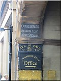 NS3321 : Signs, Ayr High Street by Richard Webb