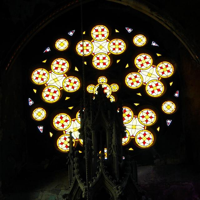 Stained Glass Window, Gorton Monastery