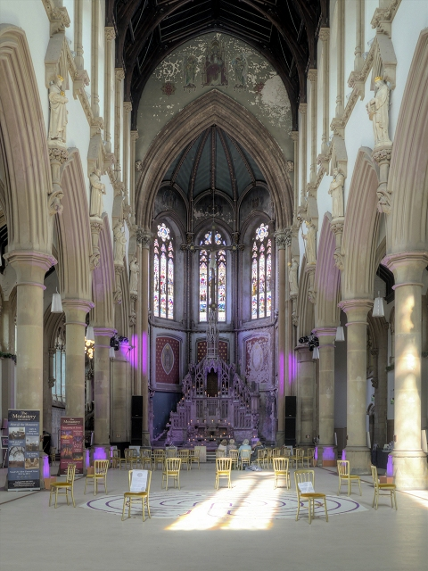 The Great Nave at Gorton Monastery