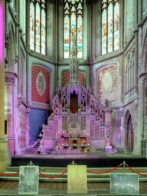 The Altar at Gorton Monastery