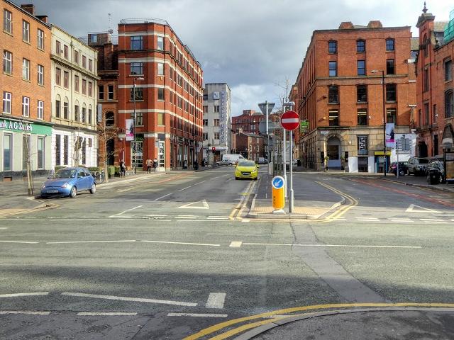 Manchester, Stevenson Square (Hilton Street)