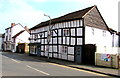 SO6554 : Black and white timber-framed building in Old Road, Bromyard by Jaggery