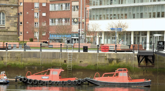 Beaver boats, Donegall Quay, Belfast (March 2015)
