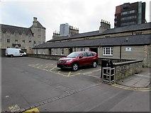 SU1484 : Central Community Centre car park, Swindon by Jaggery
