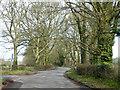 SP8903 : Rural lane junction by Robin Webster