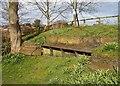 SE9884 : Former railway bridge, River Derwent by Christopher Hall