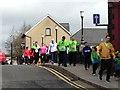 H4572 : Omagh Half Marathon - walkers by Kenneth  Allen