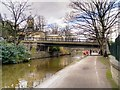 SE1338 : Leeds and Liverpool Canal, Saltaire Bridge (207A) by David Dixon