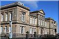 NS3322 : Ayr Academy, Fort Street, Ayr by Leslie Barrie