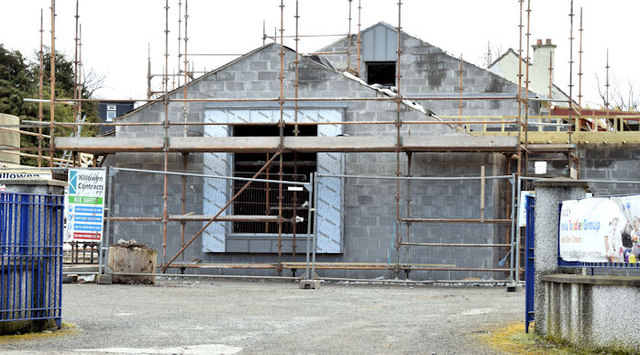 New St Donard's church hall, Belfast (March 2015)
