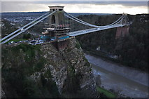 ST5673 : Bristol : Clifton Suspension Bridge by Lewis Clarke