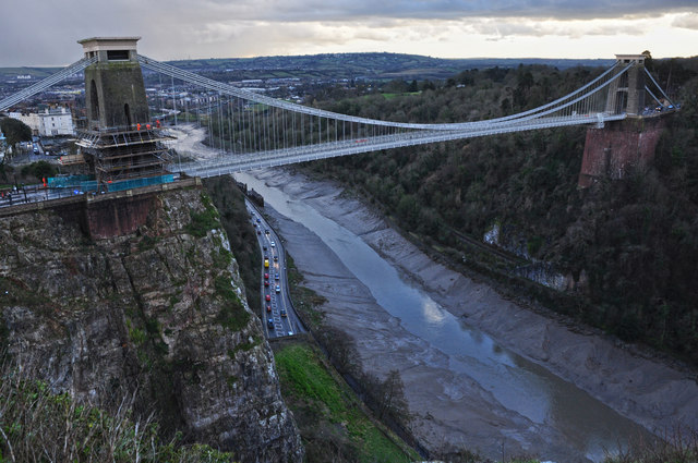Bristol : Clifton Suspension Bridge