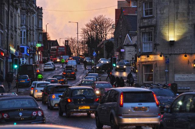 Bristol : Whiteladies Road