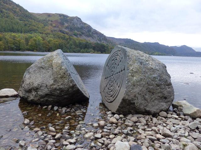 Hundred Year Stone, Derwent Water