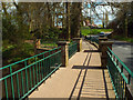 SP2872 : Footway over the Ford, Castle Road, Kenilworth by Robin Stott