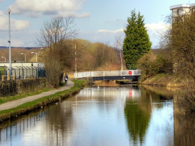 Leeds and Liverpool Canal, Dock Bridge (209)