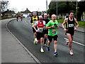 H4672 : Omagh Half Marathon - runners (4) by Kenneth  Allen