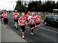 H4672 : Omagh Half Marathon - runners (11) by Kenneth  Allen
