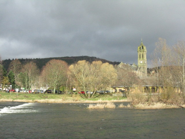 Spring colours at Peebles