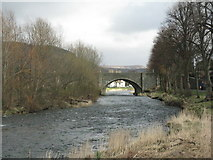 NT2540 : The Tweed Bridge at Peebles by M J Richardson