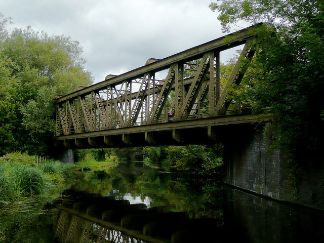 Meccano Bridge north of Compton, Wolverhampton