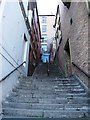 NZ2563 : Castle Stairs by Mike Quinn