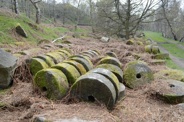 Millstones near Surprise View, Sheffield