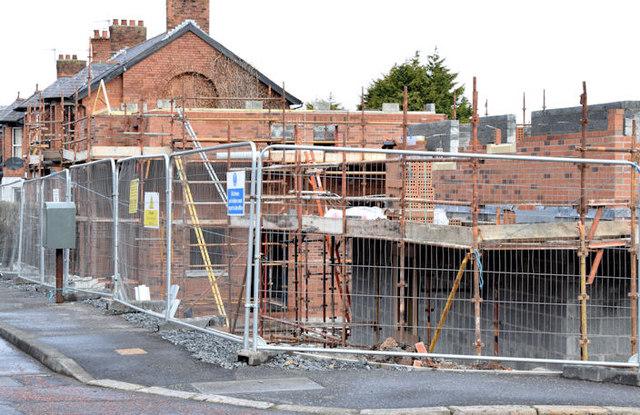 Holywood Road development site, Belfast - March 2015(1)