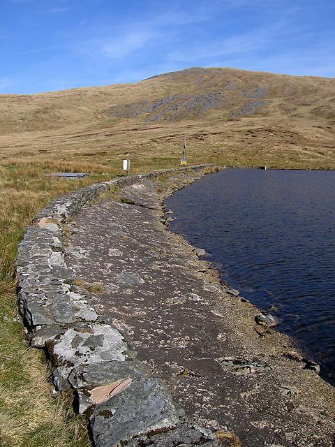 Llyn Llygad Rheidol dam