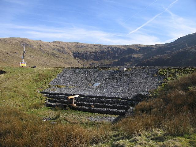 Dam, Llyn Llygad Rheidol