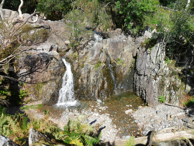 Waterfall on Stickle Ghyll