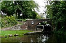 SJ9001 : Aldersley Junction Bridge near Oxley, Wolverhampton by Roger  Kidd