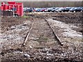 SK2429 : Old railway sidings at the former RAOC depot by Ian Calderwood