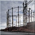 SJ8198 : Salford Gasworks - View along West Egerton Street by David Dixon