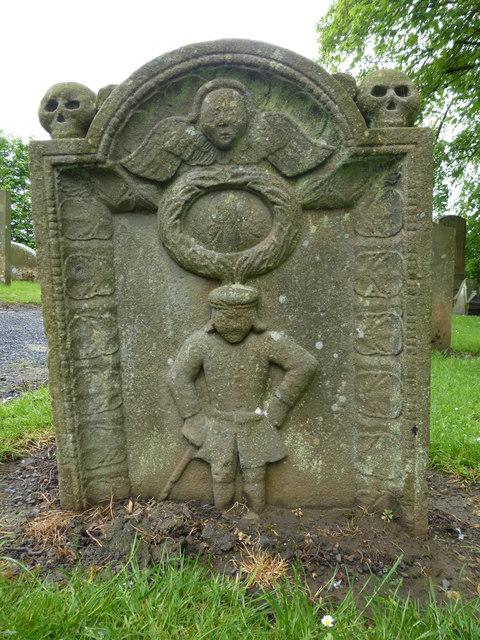 Tenant farmer's tombstone, Strathbrock