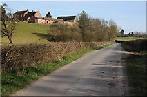 SO6629 : Road passing Hill Brook Farm by Philip Halling