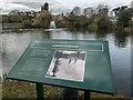 SP8633 : Information Board, Bletchley Park, Milton Keynes, Buckinghamshire by Christine Matthews