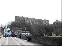 NZ2742 : On Framwelgate Bridge, Durham by JThomas