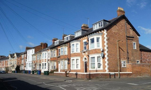 Three- and two-storey houses, Middleton Road