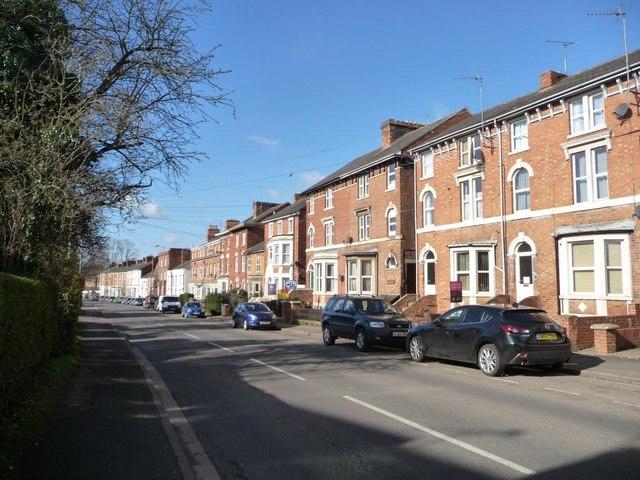 Three-storey terraced housing, Middleton Road