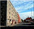 ST5872 : Former dockside warehouses, The Grove, Bristol by Jaggery