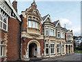 SP8633 : Entrance to Bletchley Park, Milton Keynes, Buckinghamshire by Christine Matthews