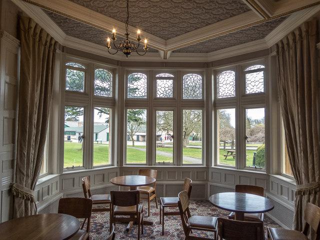 Interior of Bletchley Park, Milton Keynes, Buckinghamshire