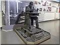SP8633 : Statue of Alan Turing, Bletchley Park, Milton Keynes, Buckinghamshire by Christine Matthews
