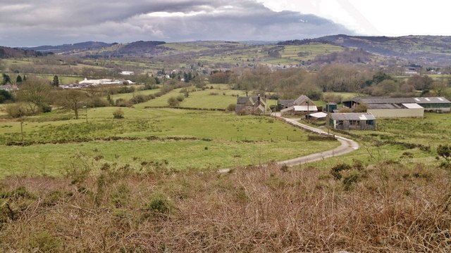 View over Mooredge Farm